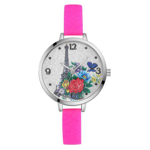 Outfit GAIETY G281 Ladies Fashion Quartz Silicone Watch