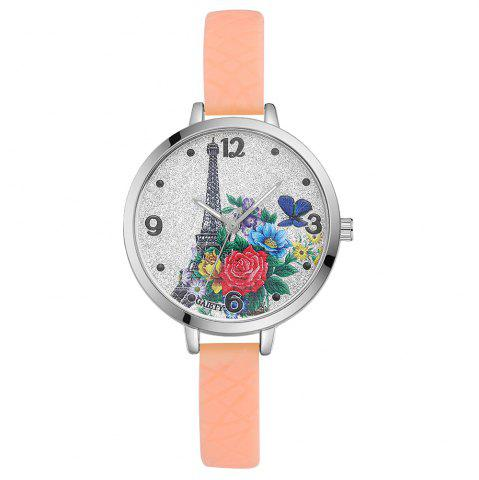 Latest GAIETY G281 Ladies Fashion Quartz Silicone Watch
