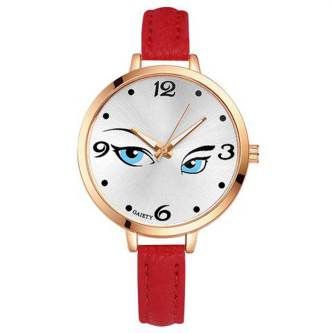 Affordable GAIETY G301 Women Fashion Leather Watch