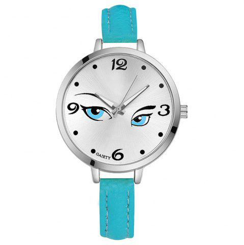 Outfit GAIETY G302 Fashion Silver Leather Watch