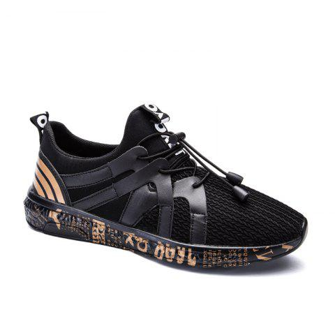 Chic New Stripe Solid Color Outdoor Casual Shoes