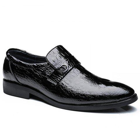 Outfits Men's Crocodile Pattern PU Style All Match Shoes