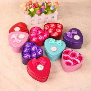 Simulation Flower Elegant Lifesome Artificial Soap Flowers With Box -