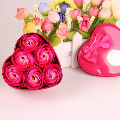 Online Simulation Flower Elegant Lifesome Artificial Soap Flowers With Box