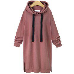 Hooded Long Sleeved Hoodie -