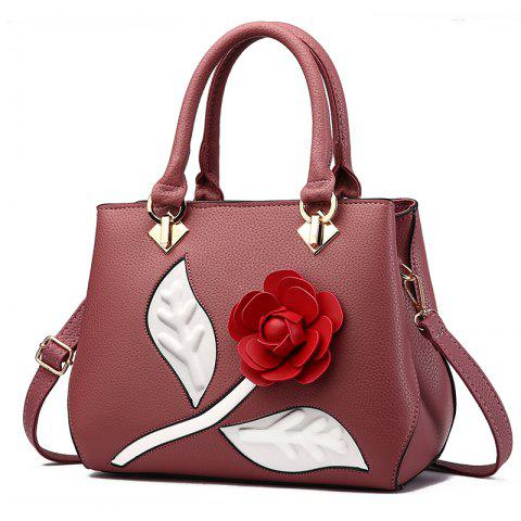 Женская сумочка Ladylike Rose Shaped Patchwork Solid Color Fashiony Bag