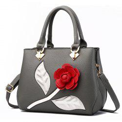 Женская сумочка Ladylike Rose Shaped Patchwork Solid Color Fashiony Bag -