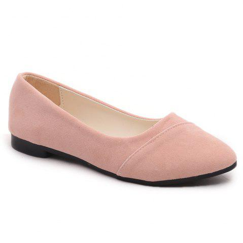 Shops The Shallow Mouth Pointed Women's Shoes With Flat Sole