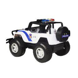 Four-Channel Wireless Remote Police Car -
