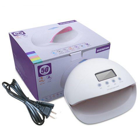 Cheap 50W Gel Nail UV LED Dryer Curing Lamps With US Plug