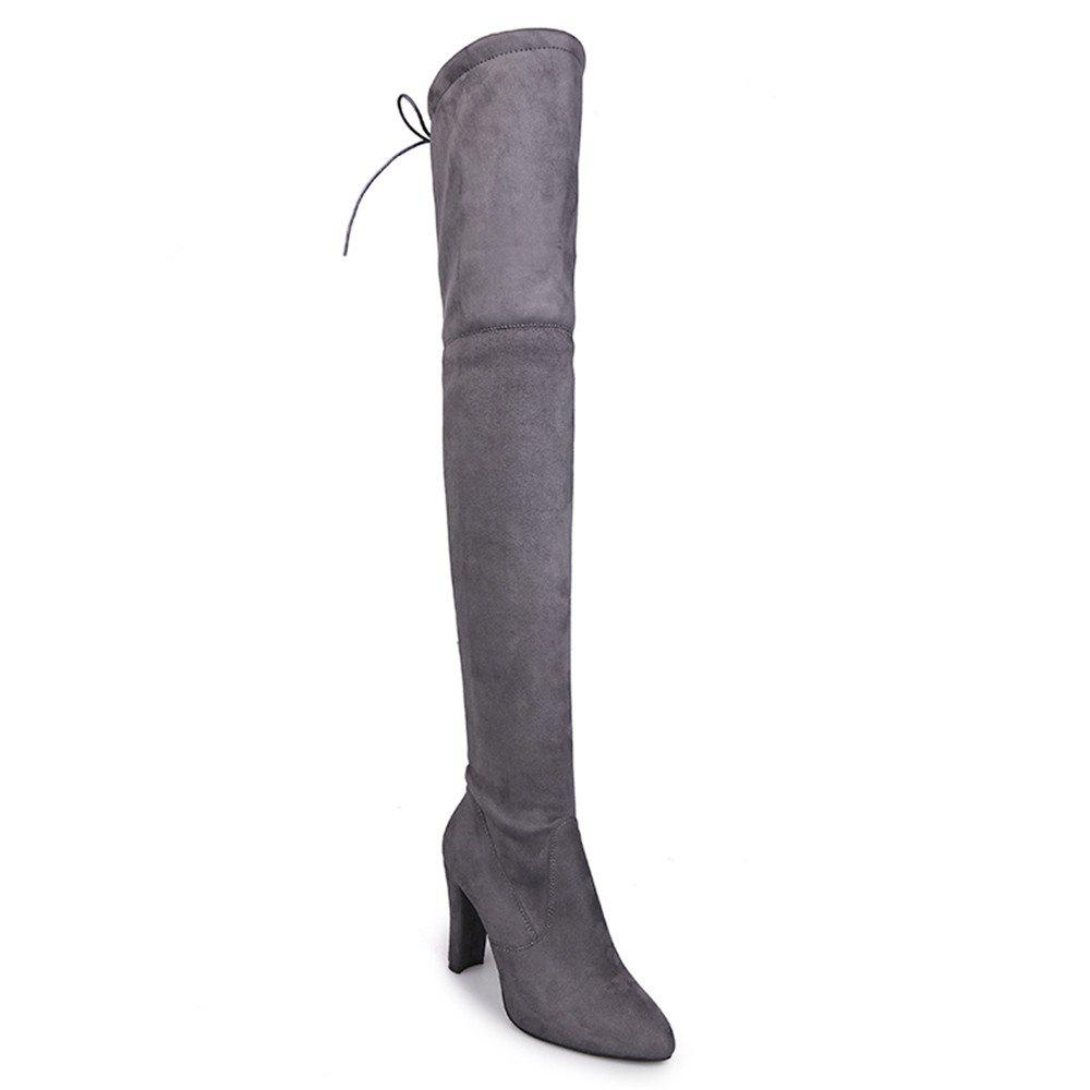 Shops Long Boot With High Heel Hemale