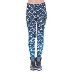 Leggings de mode femmes Leggings pantalons de yoga imprimé paillettes -