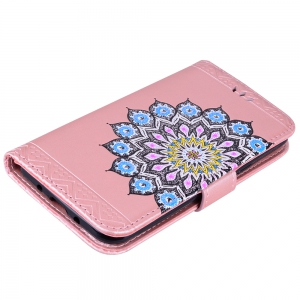 For Samsung Galaxy J310/J3(2016) Flash Powder Mandala Cover Covers the Shell -