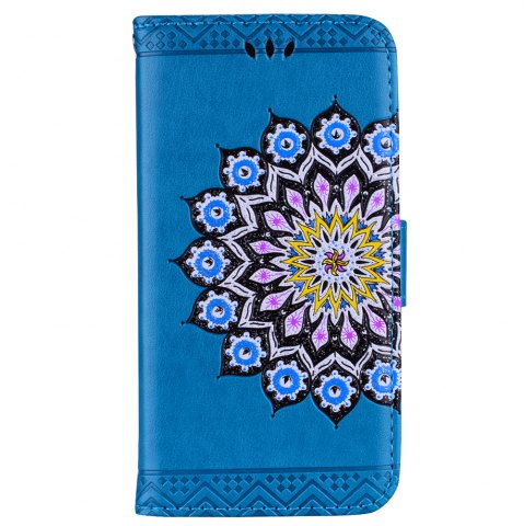Chic For Samsung Galaxy J310/J3(2016) Flash Powder Mandala Cover Covers the Shell