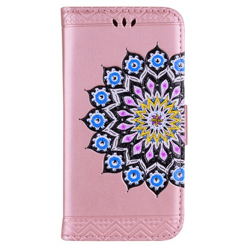 Store For Samsung Galaxy J310/J3(2016) Flash Powder Mandala Cover Covers the Shell