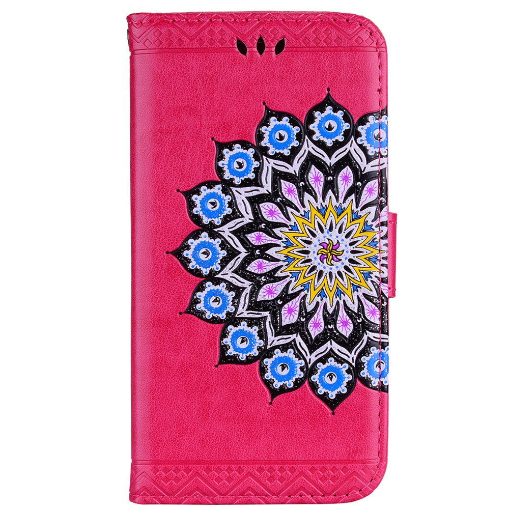 Cheap For Samsung Galaxy J310/J3(2016) Flash Powder Mandala Cover Covers the Shell