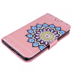 For Samsung Galaxy J510 Flash Powder Mandala Covers Cover Shell -