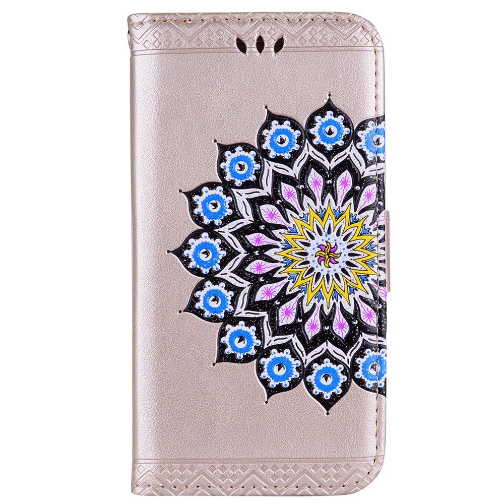 Discount For Samsung Galaxy J510 Flash Powder Mandala Covers Cover Shell