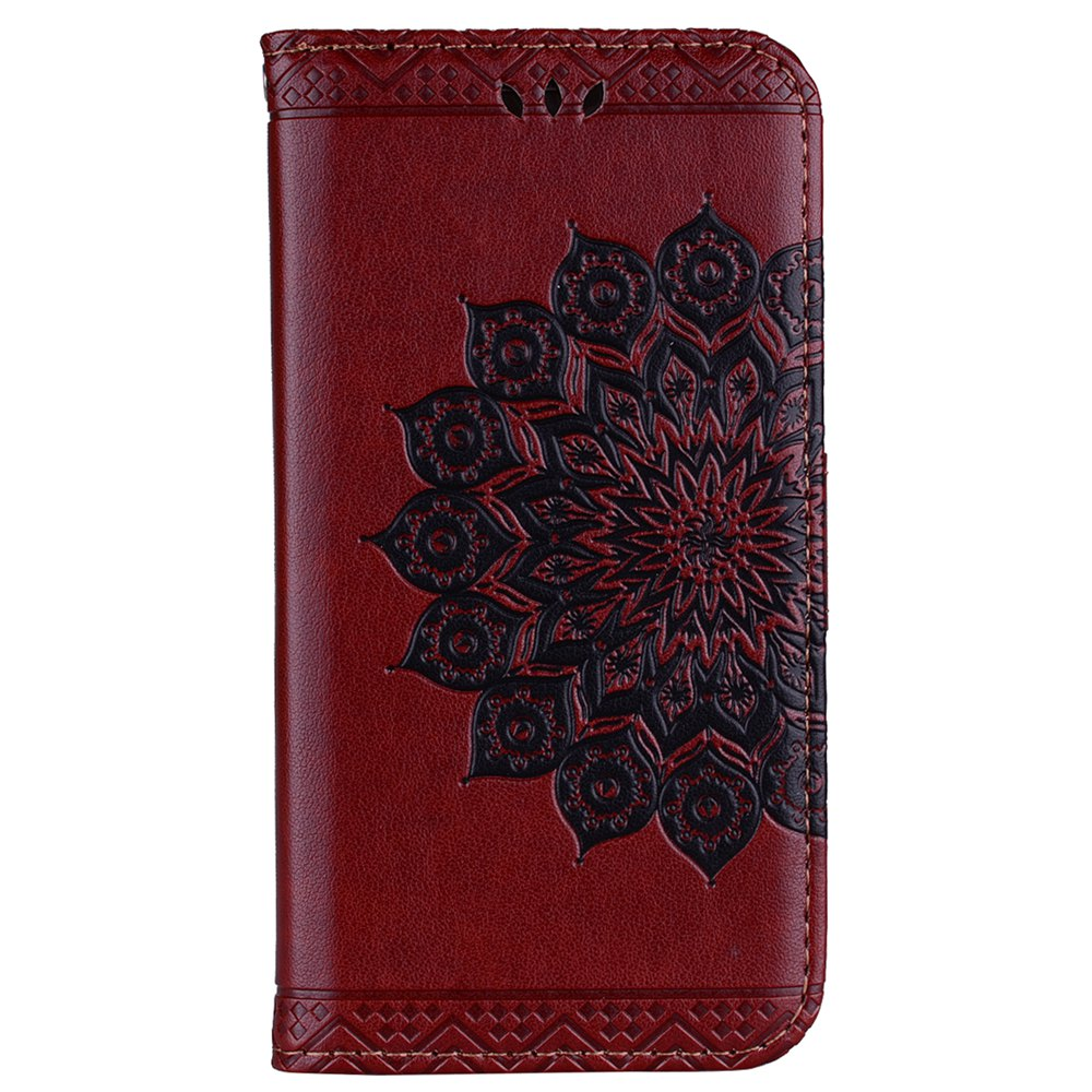 Fashion For Samsung Galaxy J510 Flash Powder Mandala Covers Cover Shell
