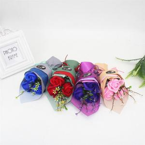 3 Pcs Creative Roses Holding Soap Flower -