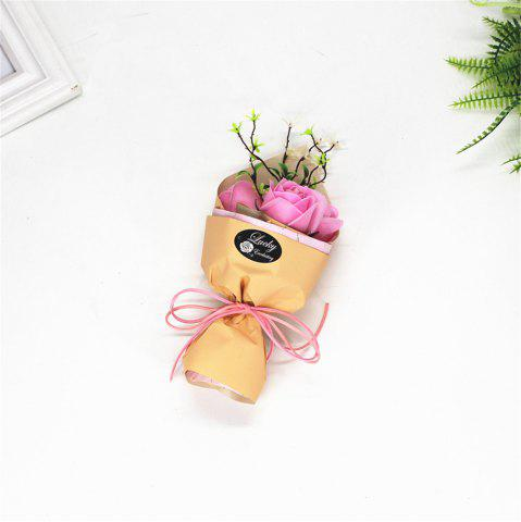 Fancy 3 Pcs Creative Roses Holding Soap Flower