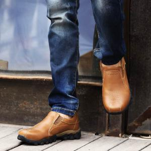 New Leather Casual Outdoor Shoes -