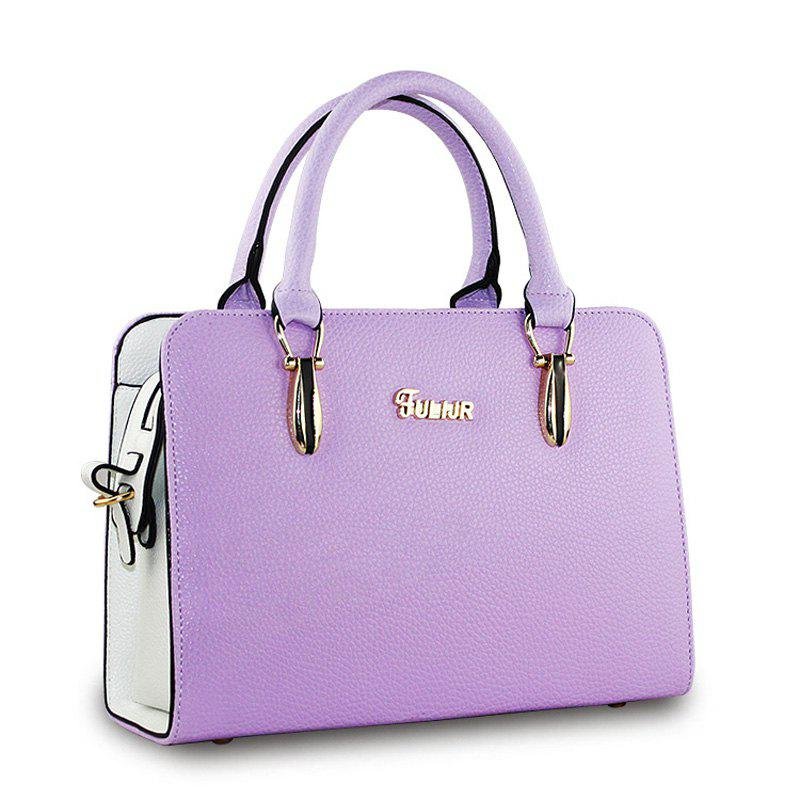 Online Women's Handbag Ladylike Solid Color Zipper Stylish Bag