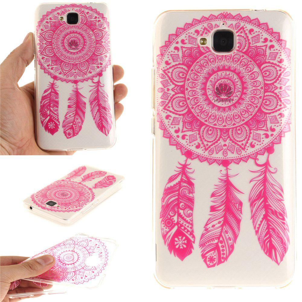 Sale Rose Bell Soft Clear IMD TPU Phone Casing Mobile Smartphone Cover Shell Case for Huawei Enjoy 5