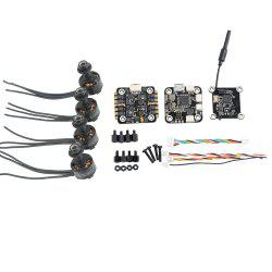 SKYSTARS  1306 Brushless Motor + F3 Flight Controller + 20A ESC + Ttransmitter -