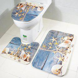 RB042Toilet Seat Cushion Three Piece Set Toilet Skidproof Cushion Suit -