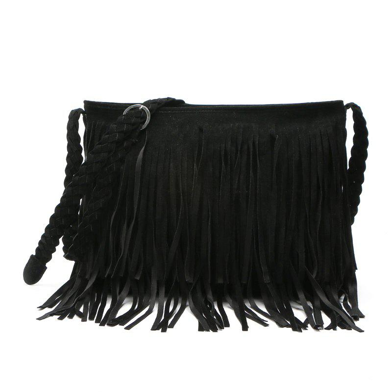 Affordable Faux Suede Fringe Tassel Shoulder Bag Women s fashion Handbag  Crossbody Bag Messenger Bags Four Colors a9fcda7555