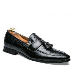Men Fashion Slip on Leather Shoes -