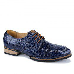 Men Fashion Lace Up Durable Leather Shoes -