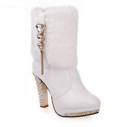 Ankle High Heel Female Boots -