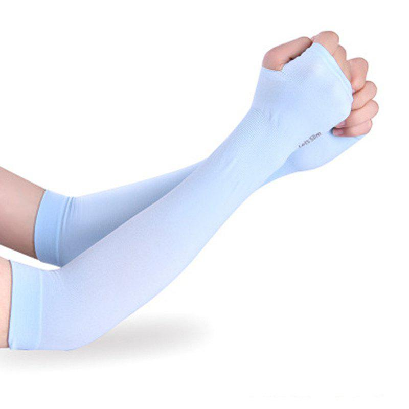 Fashion UV Protection Cooling Or Warmer Arm Sleeves for Men Women Kids Sunblock Protective Gloves Running Golf Cycling Driving