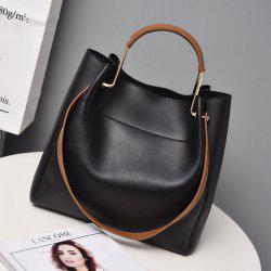 The new super - fiber leather handbag with a single shoulder slanted bag -