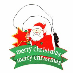 DIY Nordic Style Christmas Ornaments Santa Claus Pendant 2 / Sets -