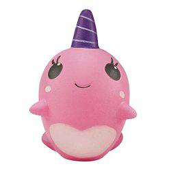 Decompression Toys Soft Cute Whale Cartoon Squishy Slow Rising Squeeze Toy Christmas Gift -