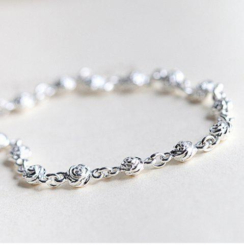 Store 925 Sterling Silver  Bracelet Silver Chain Lady Women Jewelry