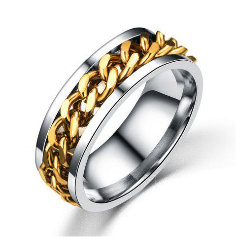 Hot Best Ring For Man Gift The Rings For Women and Men Unisex 316L Eternity Titanium Stainless Steel Men Chain Ring