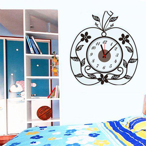 Outfit Creative DIY Apple Mosaic Wall Sticker Clock
