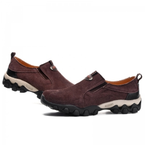 Men Casual Trend for Fashion Leather Flat Outdoor Shoes -