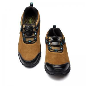 Men Casual Trend for Fashion Leather Flat Lace Up Outdoor Shoes -