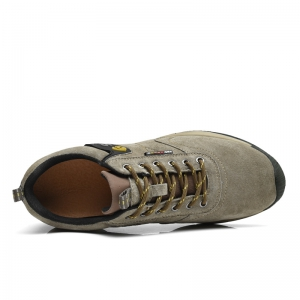 Men Casual Trend for Fashion Lace Up Flat Outdoor Leather Shoes -