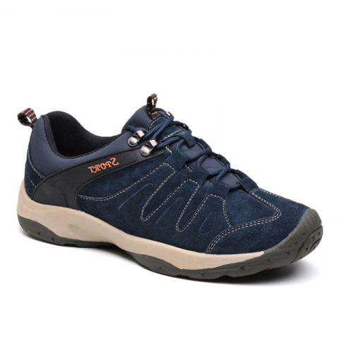 Best Men Casual Trend for Fashion Lace Up Flat Leather Outdoor Shoes