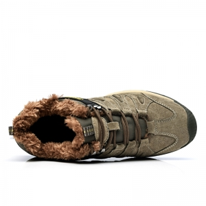 Men Casual Trend for Fashion Lace Up Flat Leather Suede Outdoor Shoes -