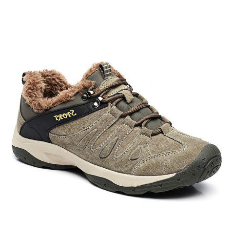 Chic Men Casual Trend for Fashion Lace Up Flat Leather Suede Outdoor Shoes
