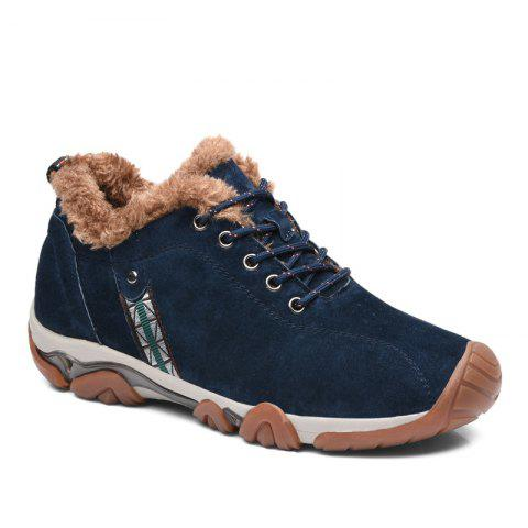 Outfits Men Casual Trend for Fashion Lace Up Outdoor Flat Leather Type Suede Shoes