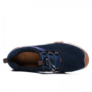 Men Casual Trend for Fashion Lace Up Outdoor Flat Type Leather Shoes -