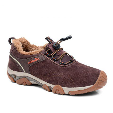 Store Men Casual Trend for Fashion Lace Up Outdoor Flat Type Leather Suede Shoes